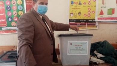 صورة وكيل وزارة الشباب والرياضة بالدقهلية يدلي بصوته في إنتخابات نواب 2020