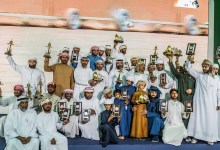 "Photo of إقبال ملحوظ على المشاركة في منافسات ""فخر الأجيال"" للصيد بالصقور"