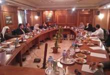 Photo of وفد الصحفيين يزور الجمهورية ووكالة أنباء الشرق الأوسط