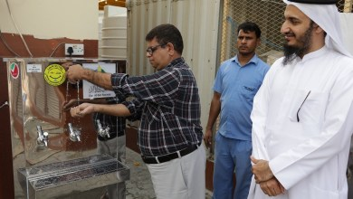 Photo of 103 مبردات لتوفير المياه الباردة ل 25 ألف عامل في دبي
