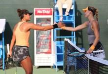 Photo of مفاجأتان مدويتان واحتدام المنافسة في دولية الحبتور لتنس السيدات