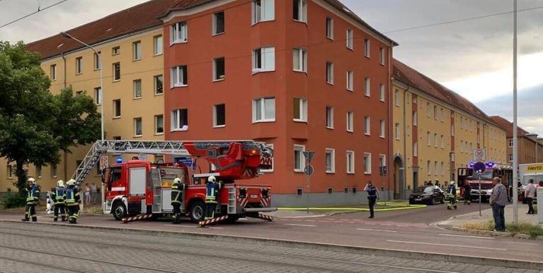 اندلاع حريق متعمد في مبنى سكني في مدينة ألمانية