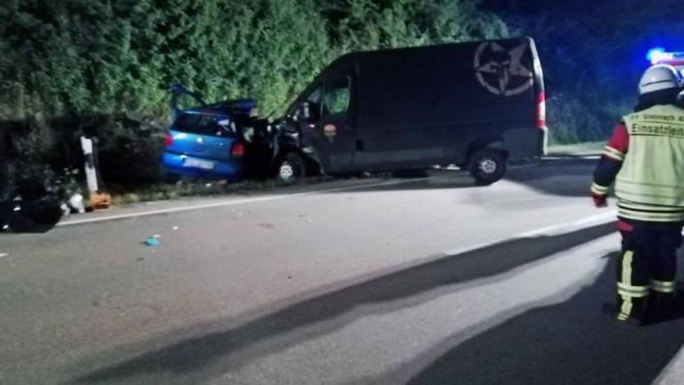 حادث مريع على طريق مدينة ألمانية