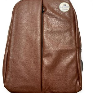 Leather Backpack bag color brown