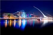 Samuel Beckett Bridge, Dublin, Ireland.
