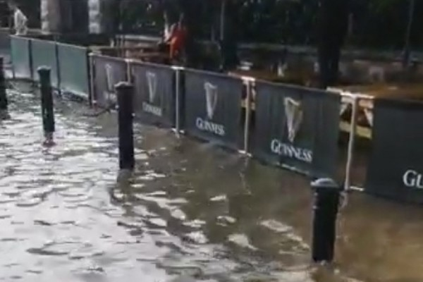 فيضانات شديدة تضرب شمال دبلن عقب الأمطار الغزيرة