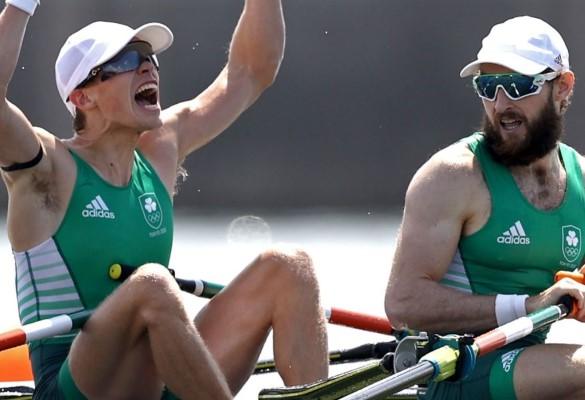 إيرلندا تحرز ذهبية زوجي الرجال بمجذافين وزن خفيف