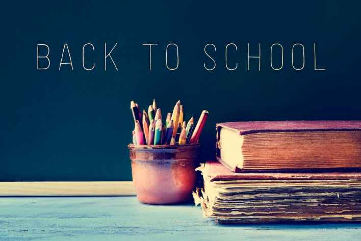 بداية العام الدراسي الجديد للأطفال