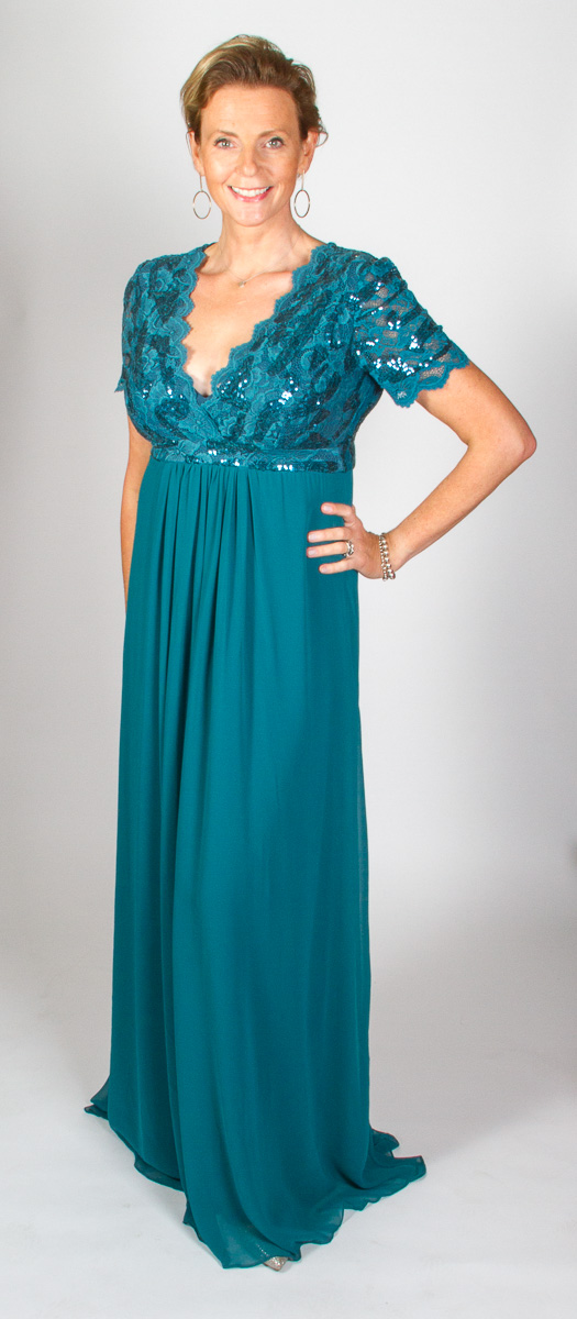 Sylvie (Teal) Front