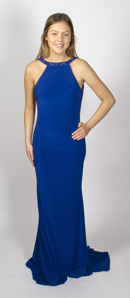 Audrey (Royal Blue) Front