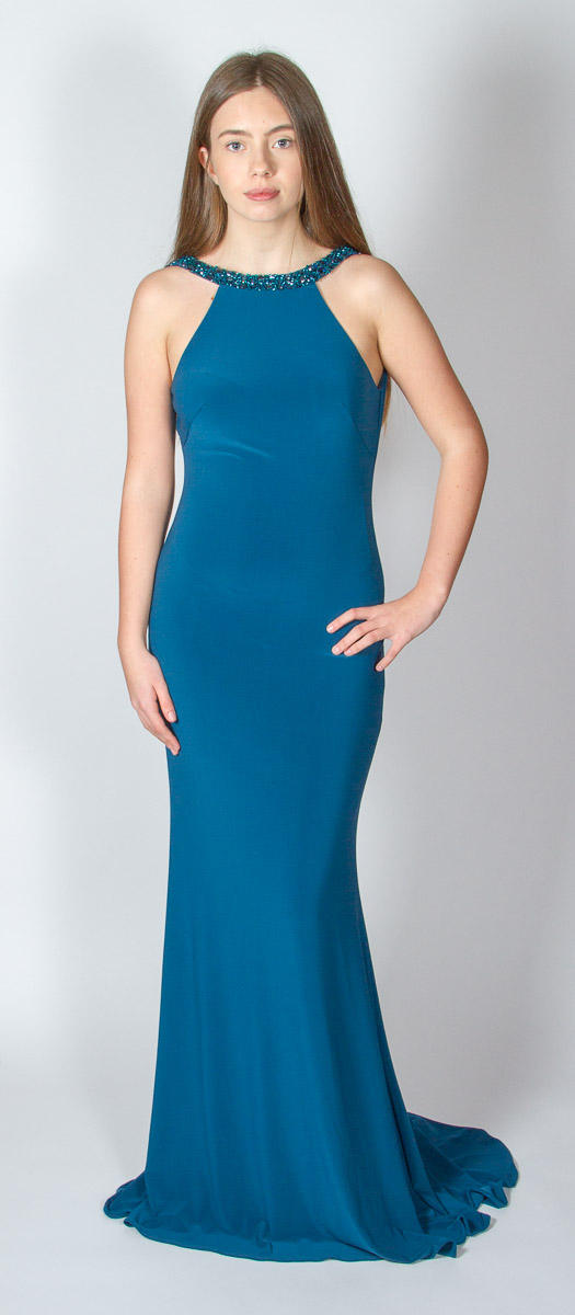 Audrey (Teal) Front