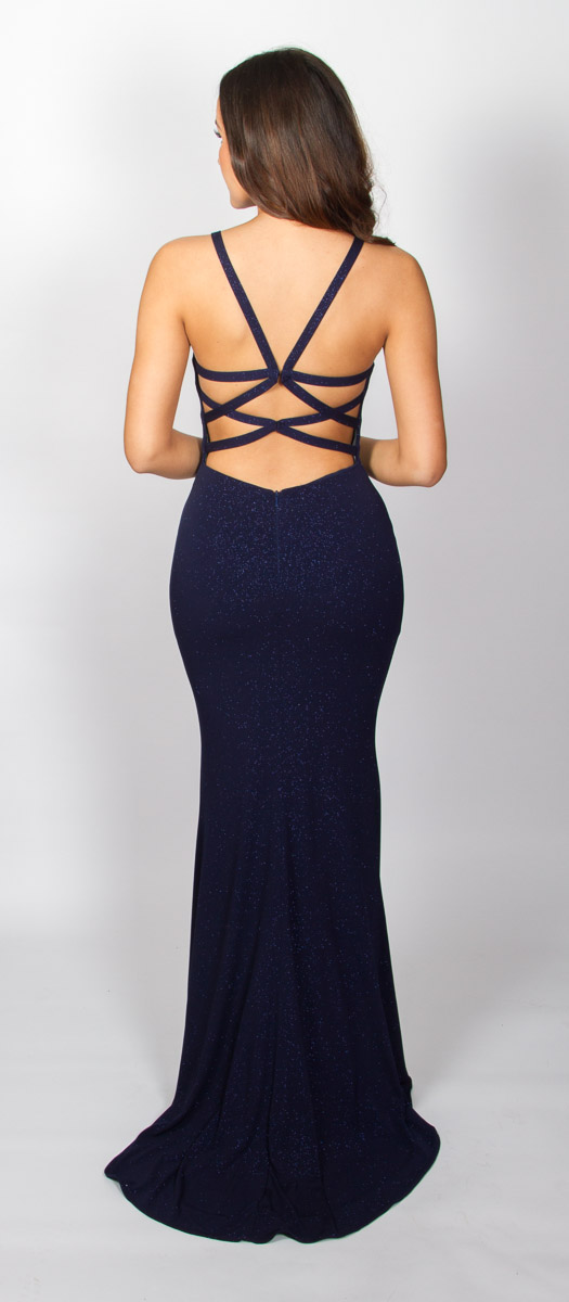 Anastasia (Navy) Back