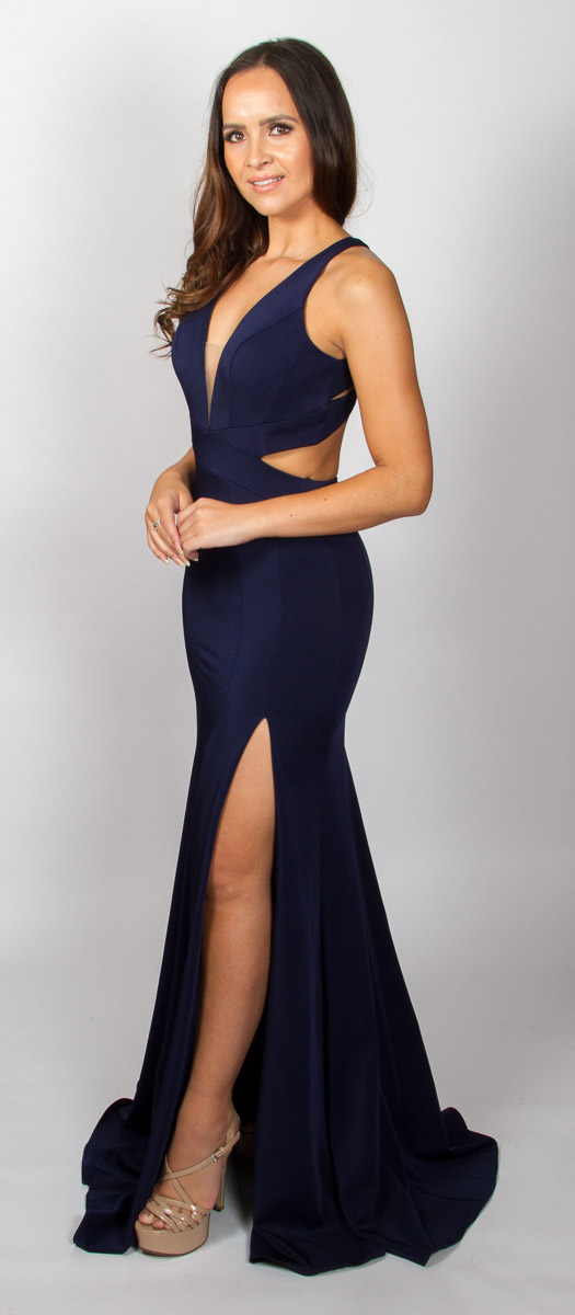 Kamilla (Navy) Side