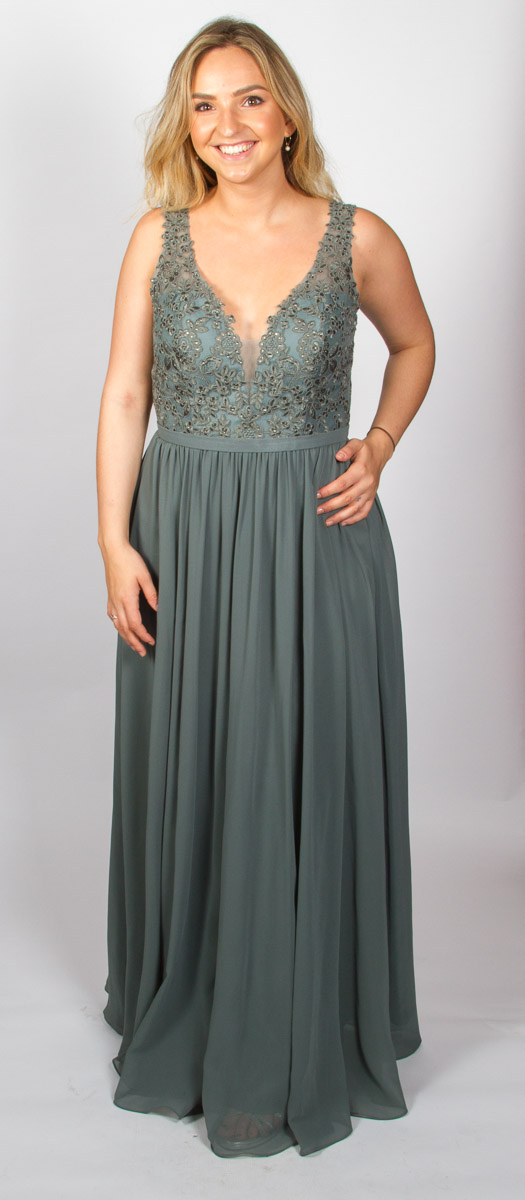 Eloise (Smoky Green) Front