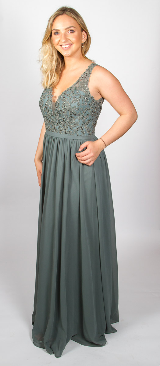 Eloise (Smoky Green) Side