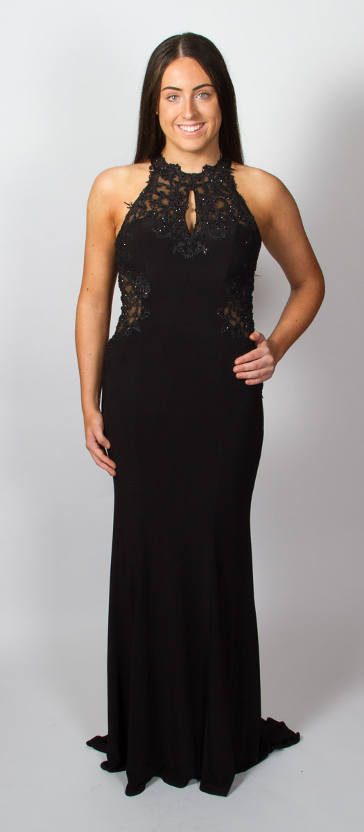 Tanya (Black) Front