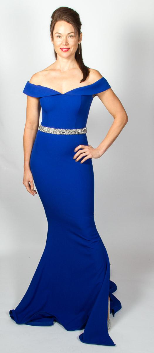 Rosa (Royal Blue) Front