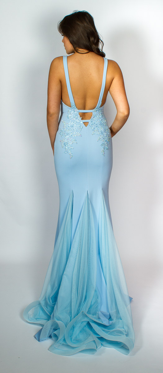 Emma (Powder Blue) Back