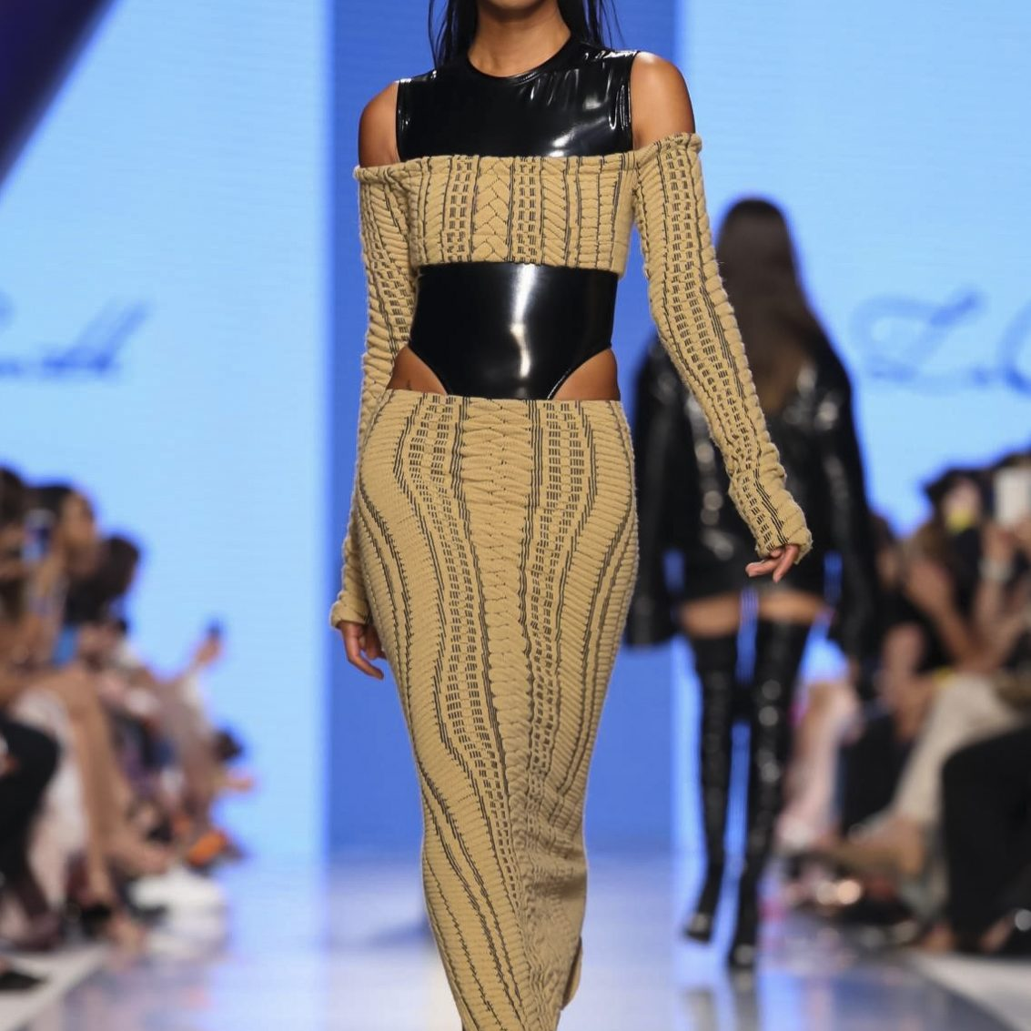 Laquan Smith Fashion Show, Ready to Wear Collection Fall Winter 2017 in Dubai, Arab Fashion Week