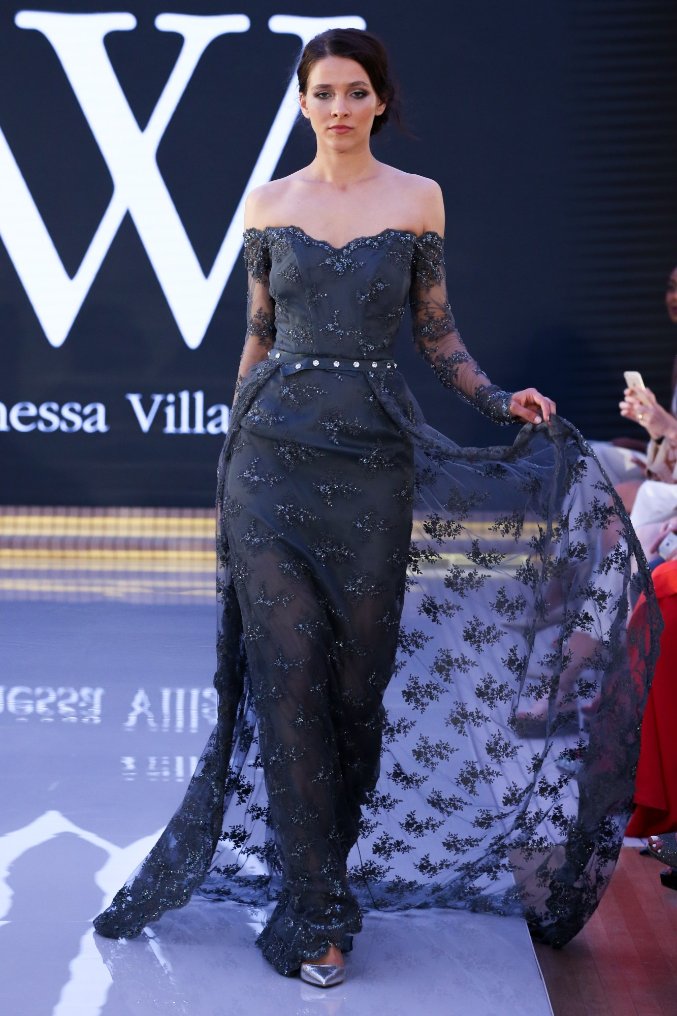 Vanessa Villafane Ready Couture Fall Winter 2018 Collection Dubai Fashion Week