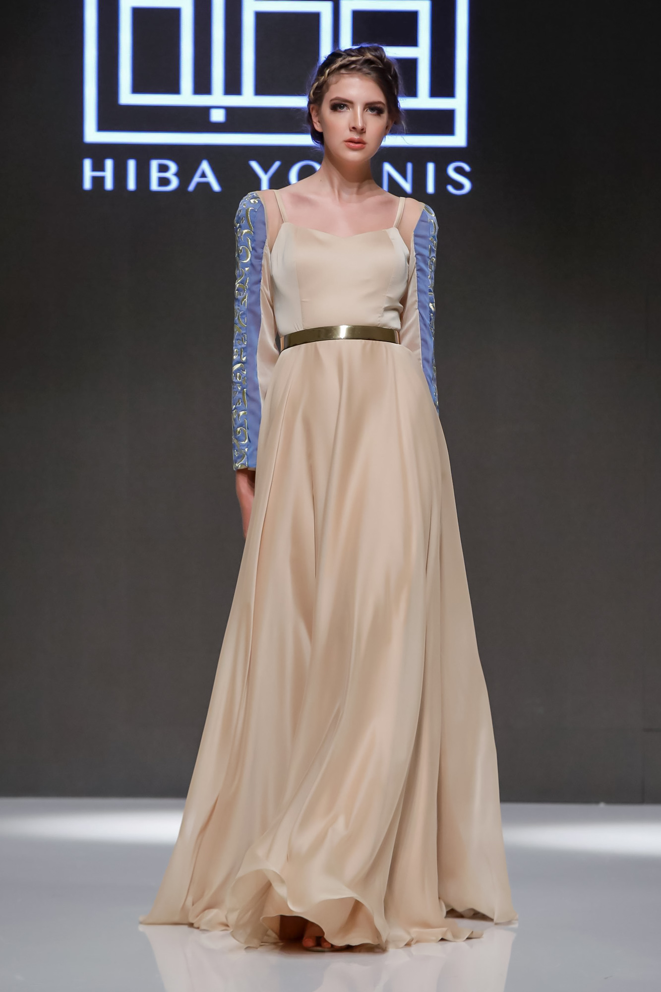 Hiba Younis Resort 2020 Collection Arab Fashion Week in Dubai