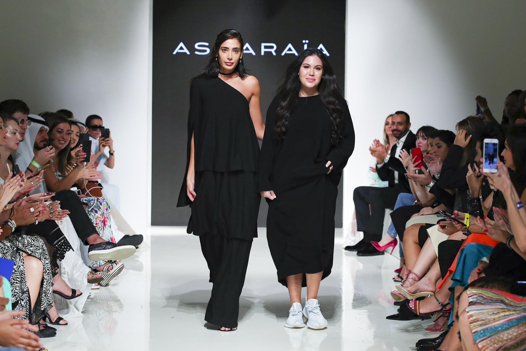 Asmaraia fashion show, Arab Fashion Week collection Spring Summer 2020 in Dubai
