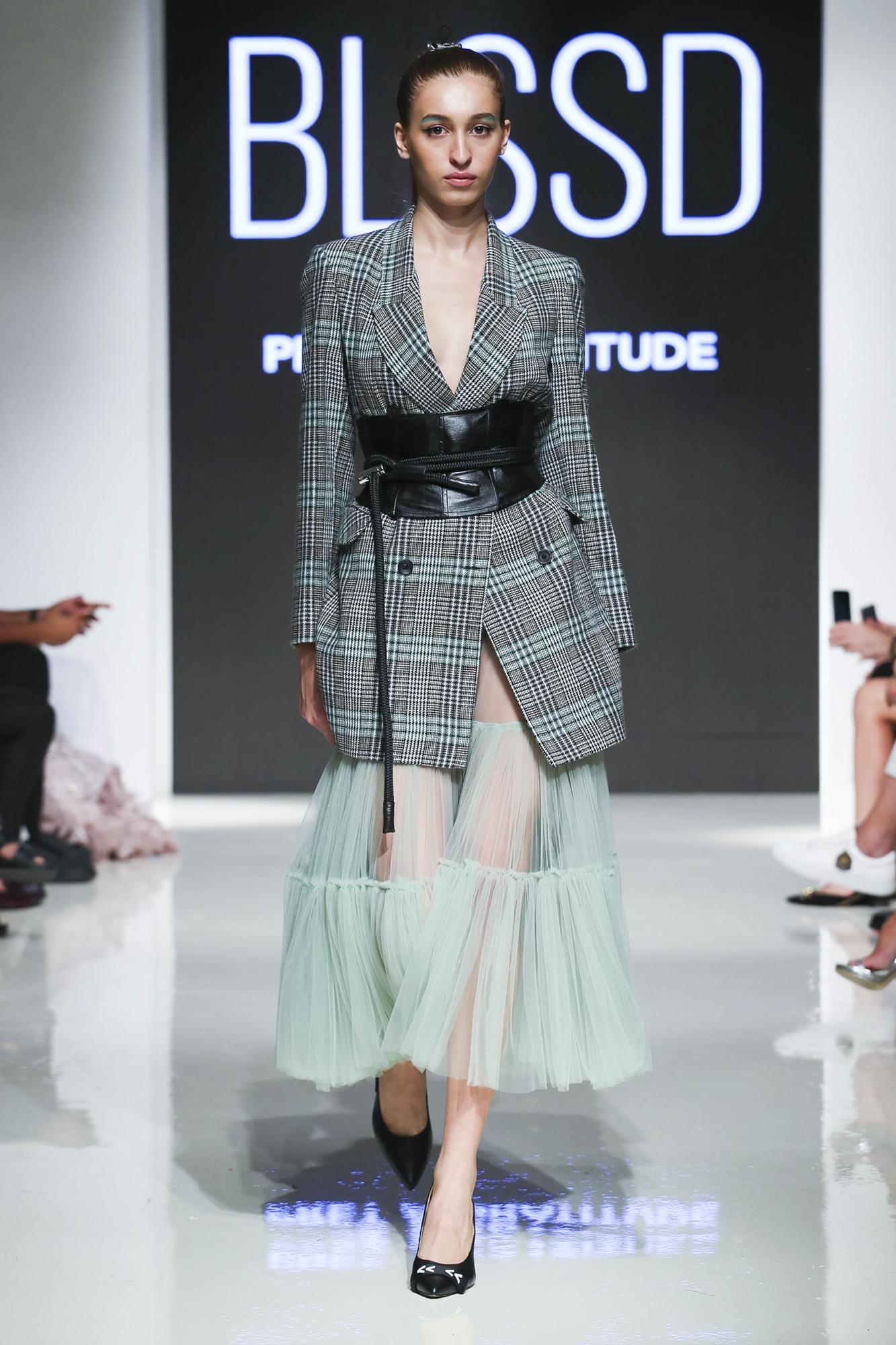 Blssd fashion show, Arab Fashion Week collection Spring Summer 2020 in Dubai