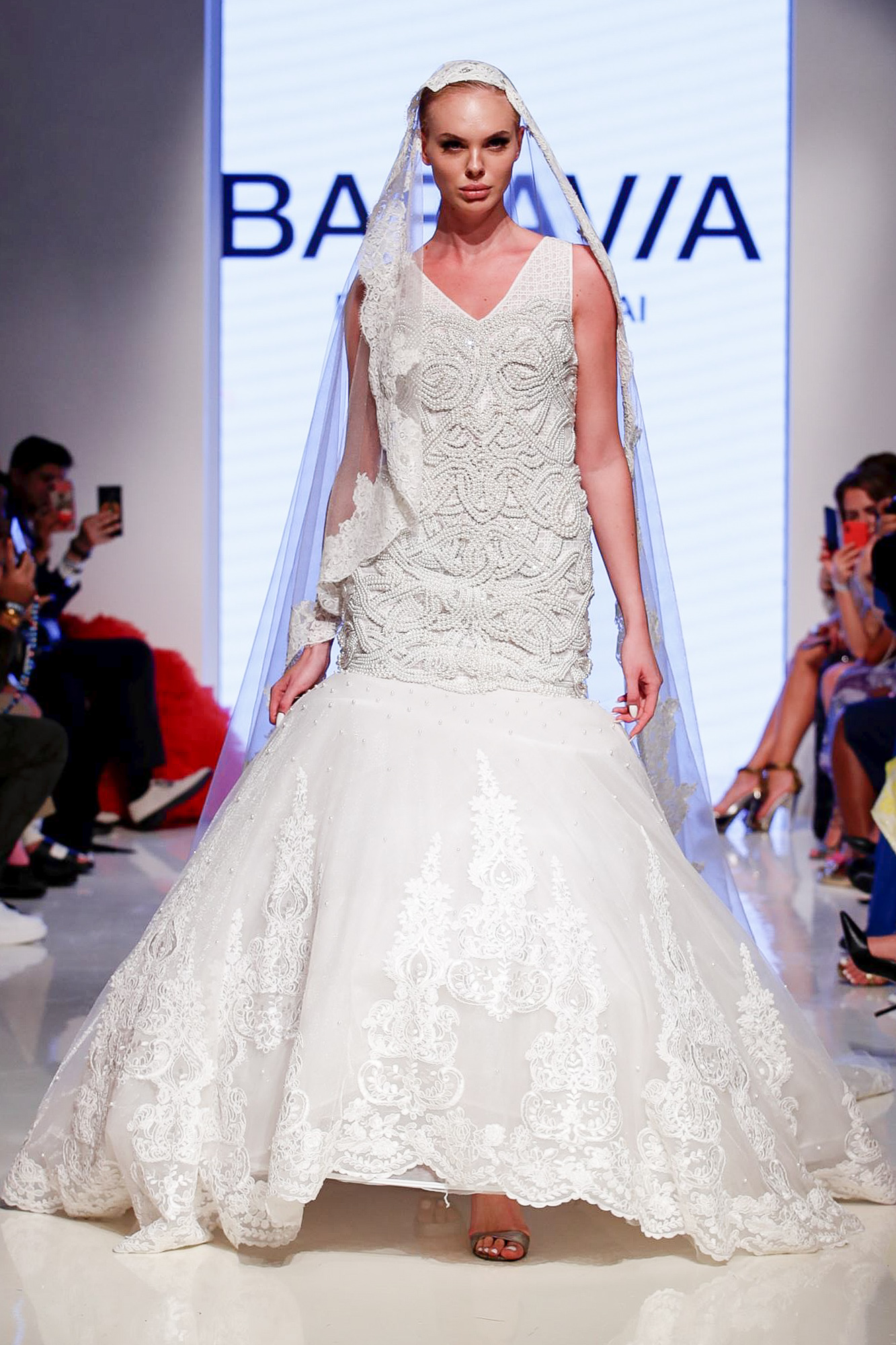 Baravia Couture fashion show, Arab Fashion Week collection Spring Summer 2020 in Dubai