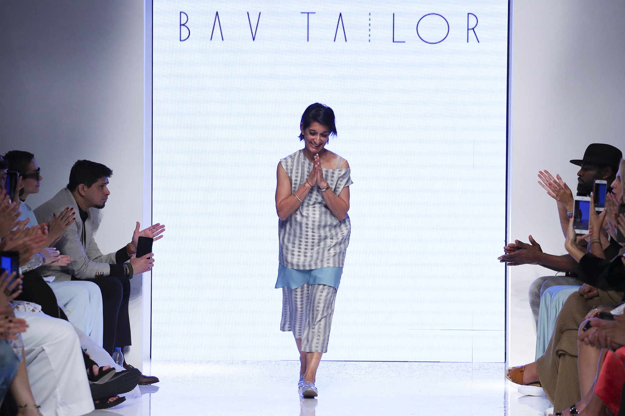Bav Tailor fashion show, Arab Fashion Week collection Spring Summer 2020 in Dubai
