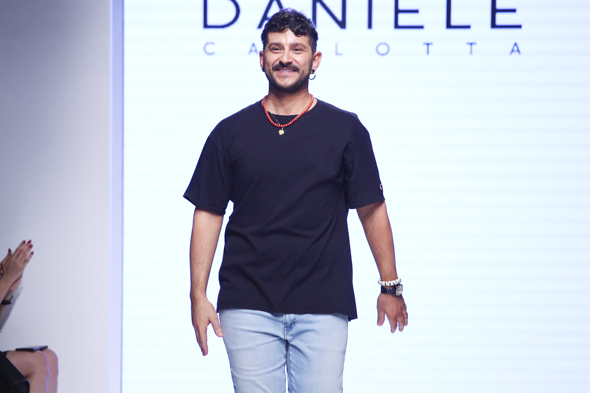 Daniele Carlotta fashion show, Arab Fashion Week collection Spring Summer 2020 in Dubai