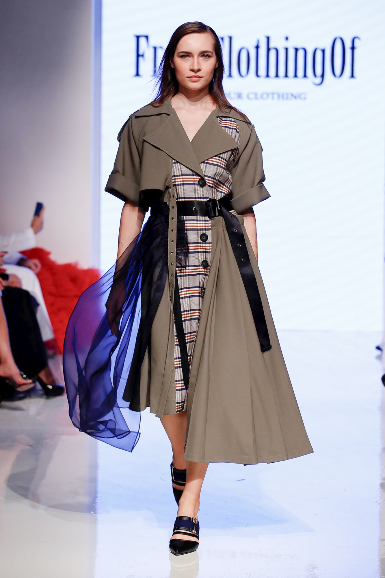 FromClothingOf fashion show, Arab Fashion Week collection Spring Summer 2020 in Dubai