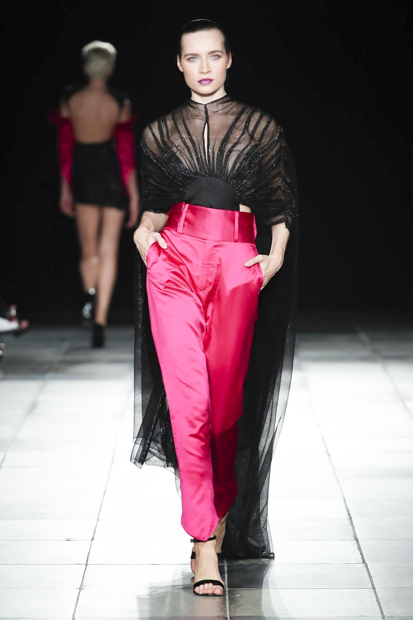 MIKHAIL CHAMOUN fashion show, Arab Fashion Week collection Spring Summer 2020 in Dubai