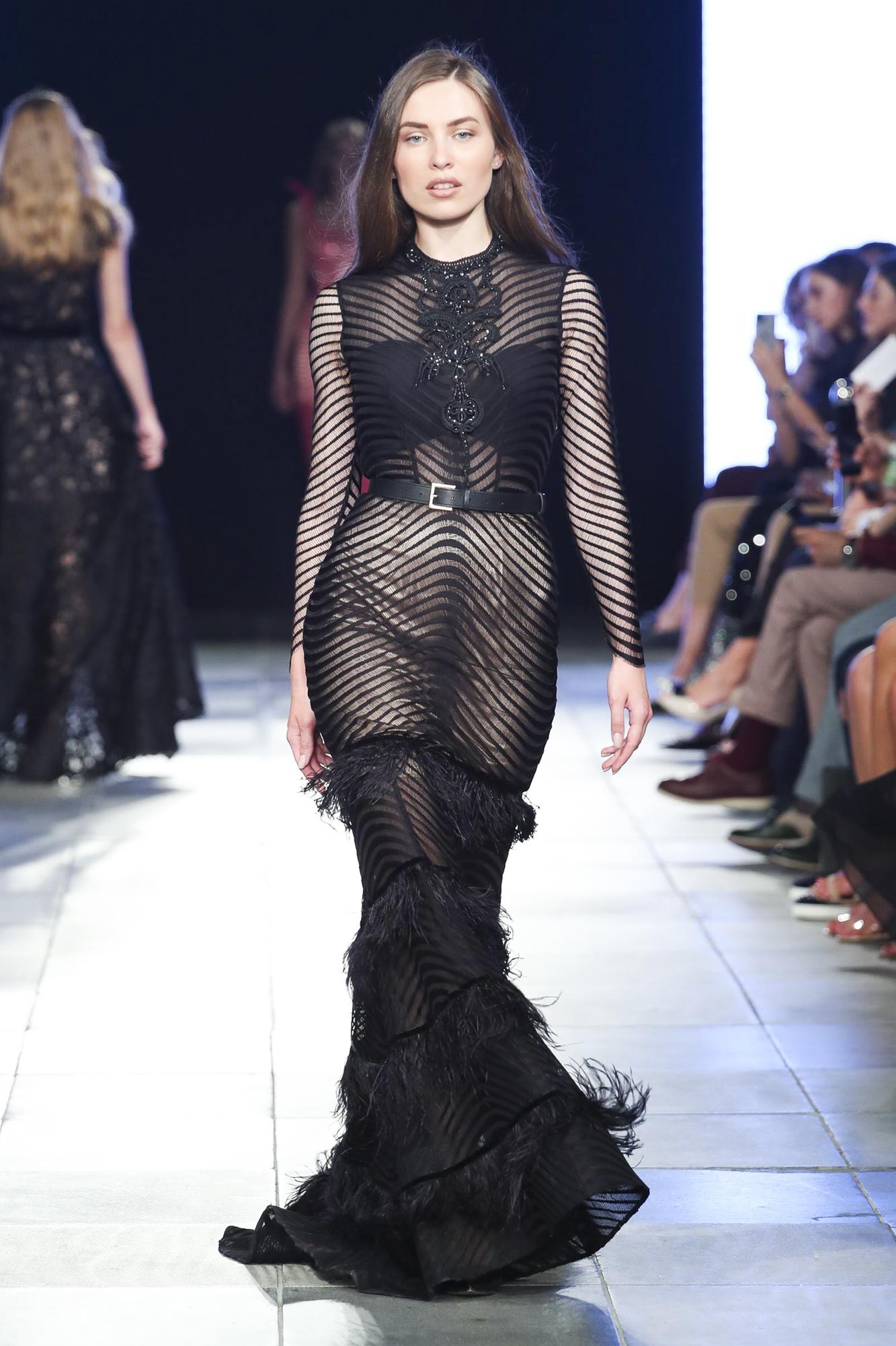 Malliny fashion show, Arab Fashion Week collection Spring Summer 2020 in Dubai