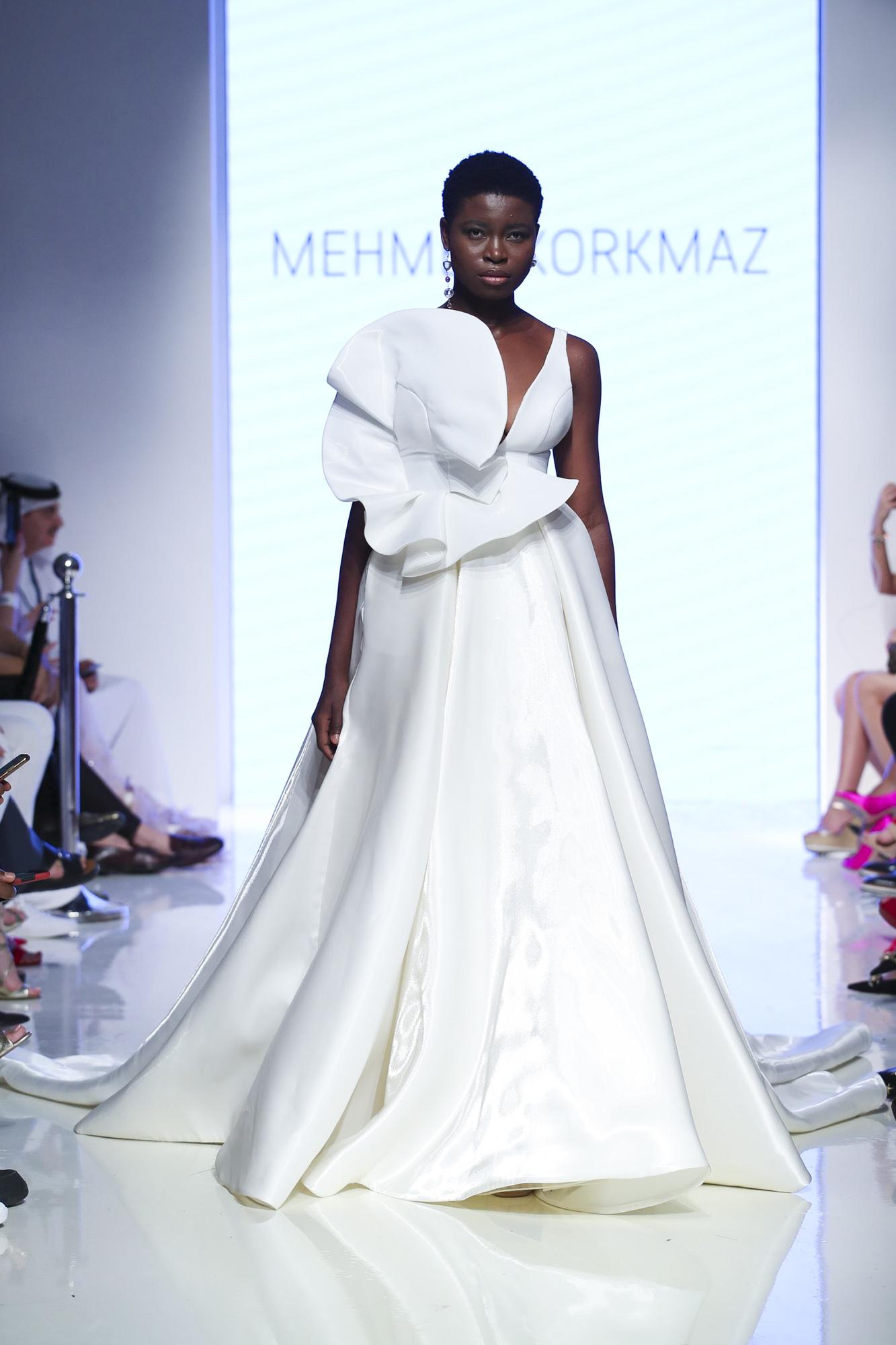 Mehmet Korkmaz fashion show, Arab Fashion Week collection Spring Summer 2020 in Dubai