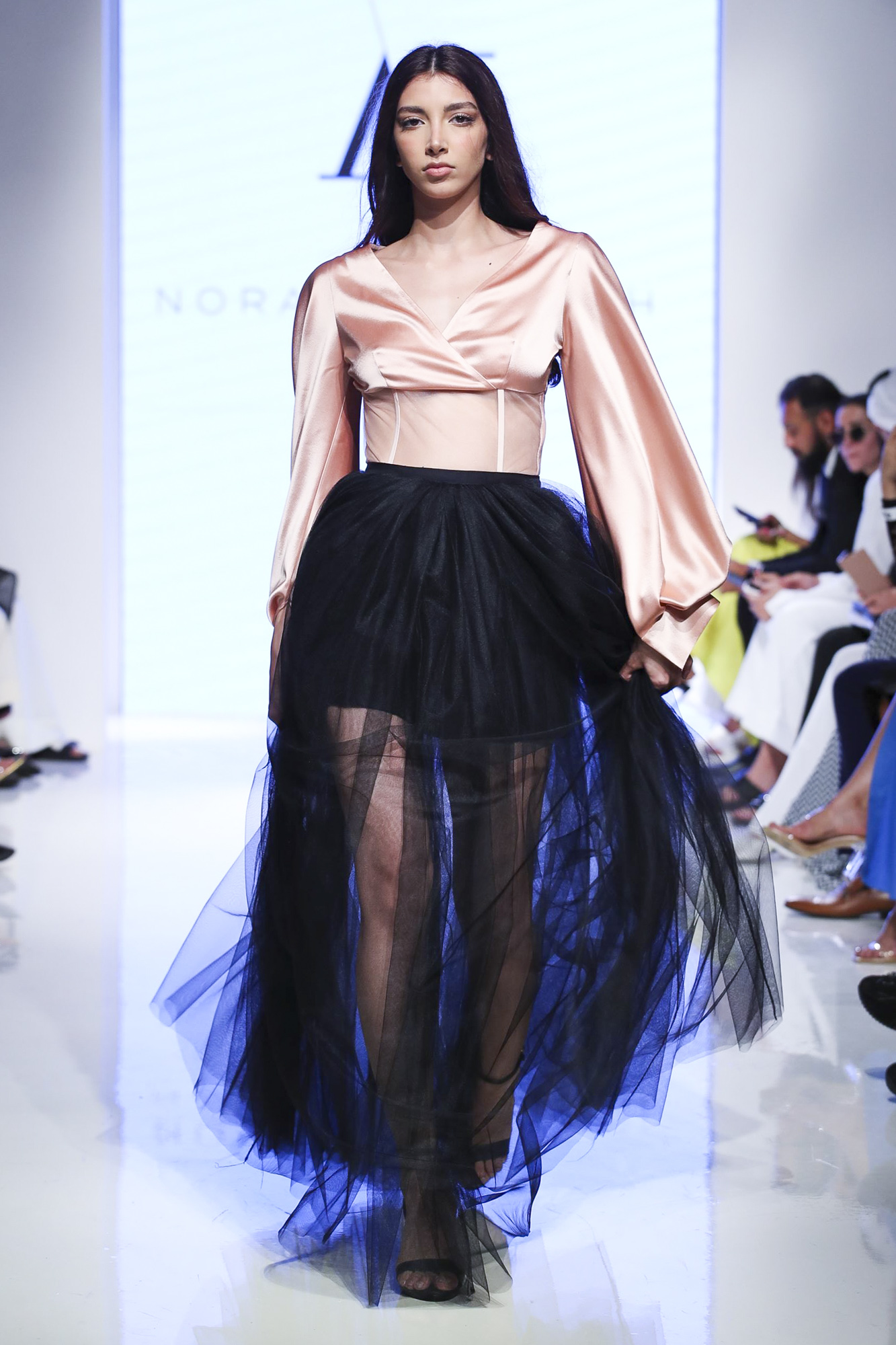 Nora Al Shaikh fashion show, Arab Fashion Week collection Spring Summer 2020 in Dubai