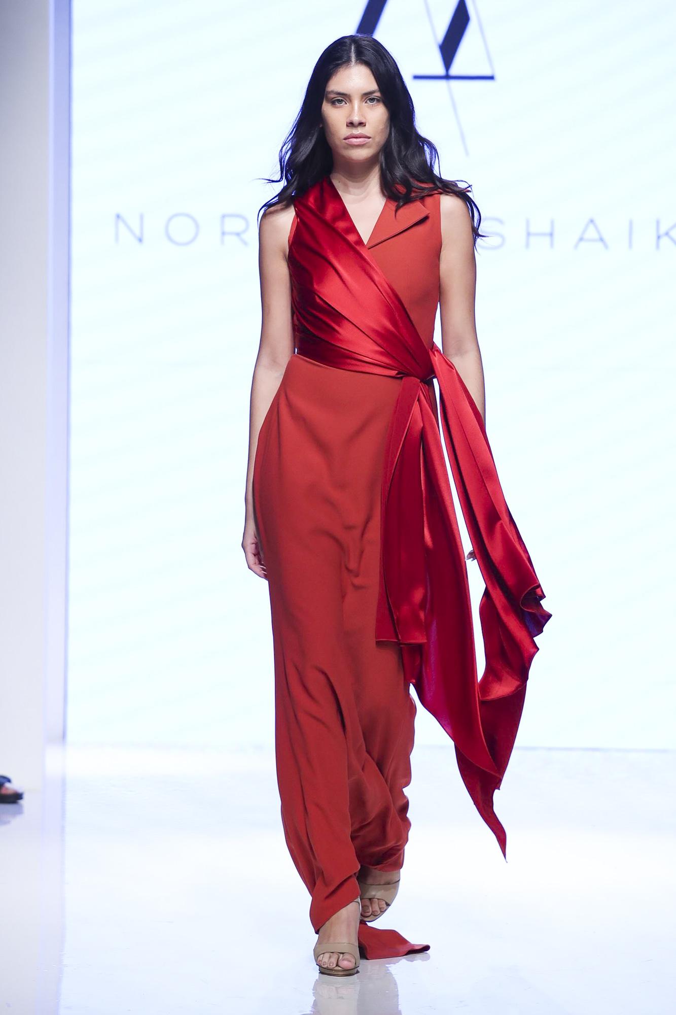 Nora Al Shaikh fashion show, Arab Fashion Week collection Spring Summer 2020 in Dubai