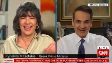 صورة رئيس الوزراء اليوناني يقدم نصيحة لرئيس البرازيل بسبب تهاونه في التعامل مع فيروس كورونا