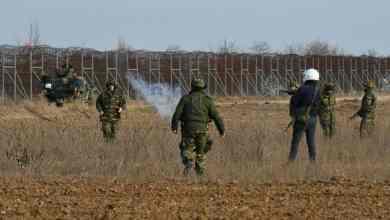 صورة اليونان تتحدث عن إطلاق نار على الحدود البرية من قبل الأتراك