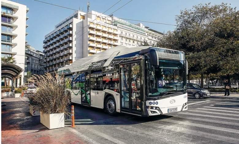 تحديث لوسائل النقل العام في اليونان
