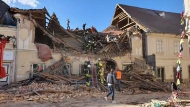صورة زلزال بقوة 6.4 درجة يضرب وسط كرواتيا