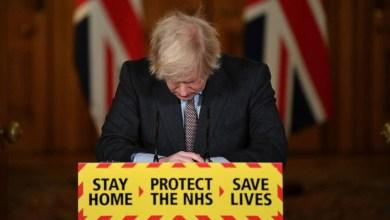 صورة اكثر من 100 ألف قتيل في بريطانيا – جونسون: أتحمل المسؤولية كاملة
