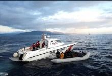صورة خفر السواحل التركي ينقذ 60 مهاجرا وطالب لجوء