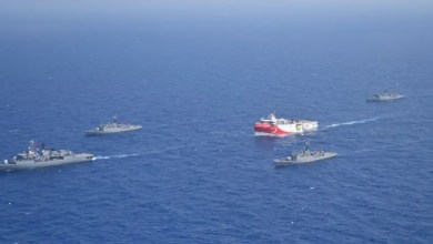 صورة عودة إلى التوتر: مناورات عسكرية تركية قبالة اليونان