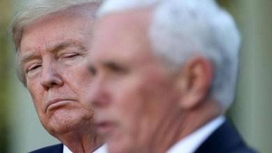 صورة بنس يلوح بعزل ترامب و شرط وحيد قبل التنفيذ