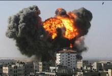 صورة الاحتلال يصدر اوامره بمواصلة الهجوم على غزة