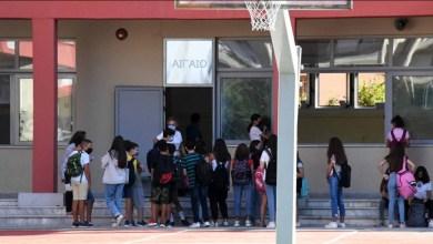 صورة عودة طلاب المدارس الابتدائية والثانوية