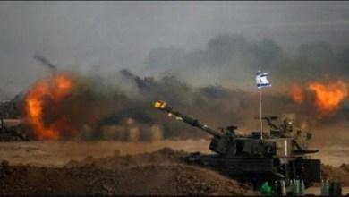 صورة التهديد بعملية برية ضد غزة
