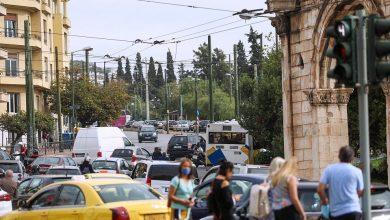 صورة خطوات جادة للحد من حركة المرور والتلوث في أثينا