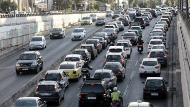 صورة حركة المرور على الطرق: تأخيرات في كيفيسوس وكيفيسيا وكابوديستريو