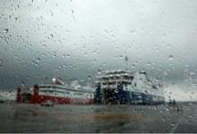 صورة العاصفة المطيرة في اليونان تسقط ملايين الأطنان من المياه